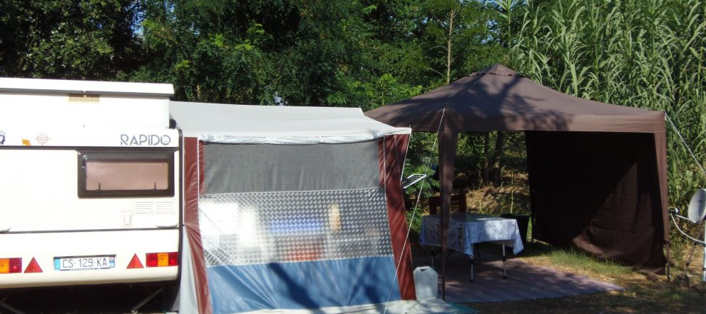 emplacement camping le Boulou